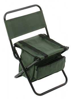FISHING SEAT WITH BAG 008 / GREEN
