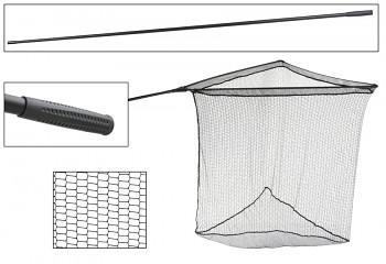 Kaprařský podběrák - INTRO CARP NET - jednodílná rukojeť