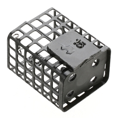 SQUARE FEEDER WITH BOTTOM 15 g - pcs.10