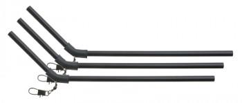 ANTI-TANGLE TUBE WITH SWIVEL 25cm - pcs3