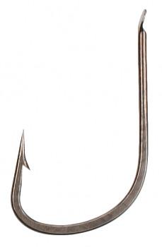 Navázané háčky SENSUAL - CHINTA vel. 12 BN černý nikl / 0.14mm / 70cm - 10 ks
