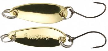 Třpytka - Mini - 2.4 cm - 1.5 g / Zlatá  1 ks