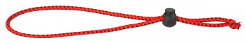 Gumka na  udici - ROD ELASTIC BAND 22cm / 3mm / RED-BLACK - 1 ks