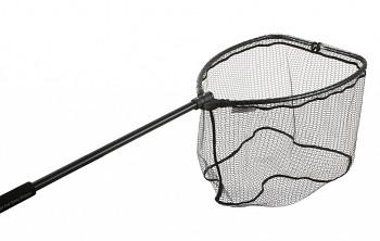 Podběrák - skládaná hlava RUBBER MESH (pogumovaná síť) 140 cm