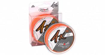 Pletená šňůra - NIHONTO FINE BRAID Oranžová 150M