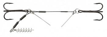 DOZBROJKA - STINGER STEEL JAWS s piny 4+6 cm x 24kg / trojháky: 1/0 - bal.1ks