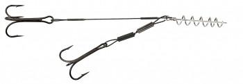 Dozbrojka - STINGER STEEL JAWS bez pinů 5+10 cm x 24 kg / trojhák: 1/0 - bal.1ks