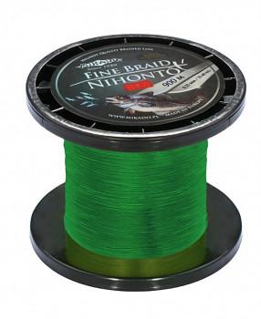 Pletená šňůra - NIHONTO FINE BRAID Zelená 900M