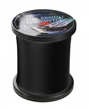 Pletená šňůra - NIHONTO FINE BRAID Černá 3000M