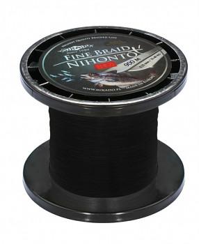 Pletená šňůra - NIHONTO FINE BRAID Černá 900M