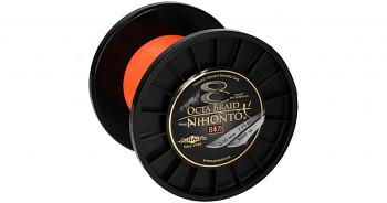 Pletená šňůra - NIHONTO OCTA BRAID Oranžová 3000M