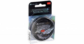 Pletená šňůra - NIHONTO FINE BRAID černá 15M