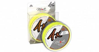 Pletená šňůra - NIHONTO FINE BRAID Žlutá 150M