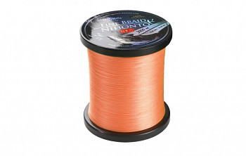 Pletená šňůra - NIHONTO FINE BRAID  Oranžová 3000M