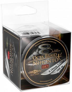 Pletená šňůra - NIHONTO OCTA BRAID  Černá 300M