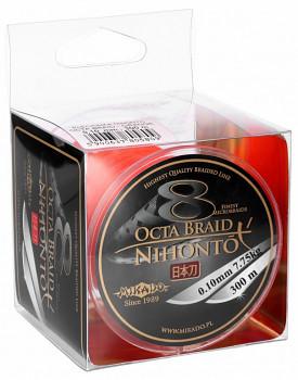 Pletená šňůra - NIHONTO OCTA BRAID  Oranžová 300M