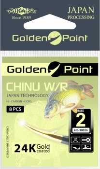 Háčky GOLDEN POINT - CHINU Očko - 2 GB - 8 ks