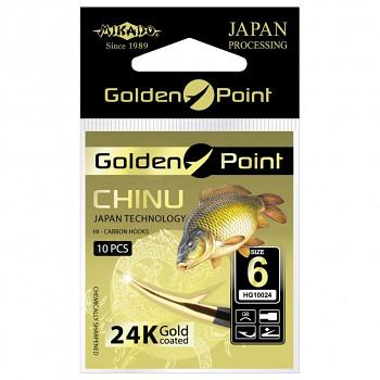 Háčky GOLDEN POINT - CHINU s lopatkou GB
