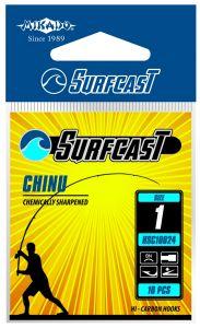 Háčky SENSUAL SURFCAST - CHINU B s lopatkou - 10 ks