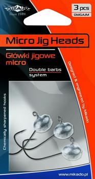 Jigové hlavičky - MIKRO  BN - 3 ks
