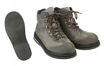 Brodící boty s filcovou podrážkou