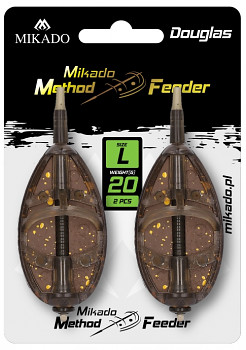 Krmítko - METHOD FEEDER DOUGLAS L 20 g - 2 ks