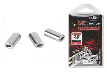 ALU Zamačkávací trubičky 0.6mm 20 ks