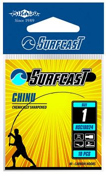 Háčky SURFCAST - CHINU B s očkem - 25 ks