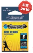Háčky SURFCAST - SODE B s očkem - 25 ks
