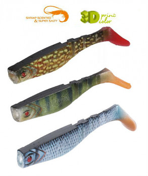 Nástraha - FISHUNTER RIPPER 3D (kopyto) FH 8-13 cm - bal5(4)(3)ks
