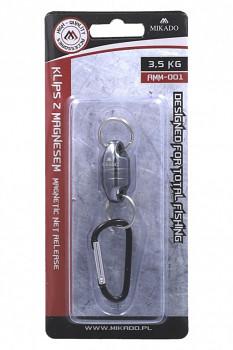 Magnetický klip na podběrák / tah 3.5 kg