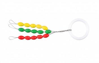 Stopery gumové barevné