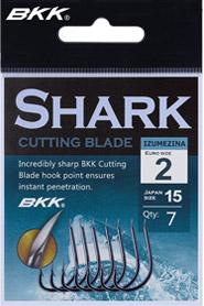 Háčky - BKK - SHARK IZUMEZINA s lopatkou SHARK CUTTING BLADE