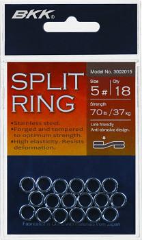 Spojovací kroužky  BKK - SPLIT RING - nerezová ocel  / 20-10ks/bal