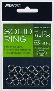 Spojovací kroužky BKK - SOLID RING vel. 3 /45kg/ - nerezová ocel - bal.18ks