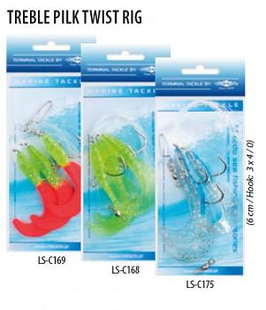 Mořský návazec - TREBLE PILK TWIST RIG