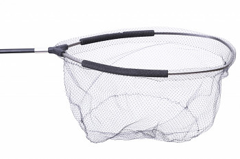 Hlava podběráku - LANDING NET HEAD OVAL 50/40, EVA,NYLON NET DIAMETER 6mm