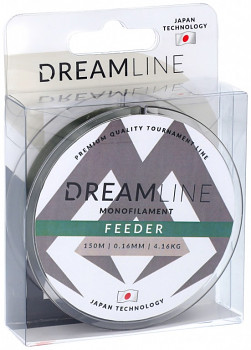 Vlasec - DREAMLINE FEEDER (MOSS GREEN) - / 150m - 1 cívka
