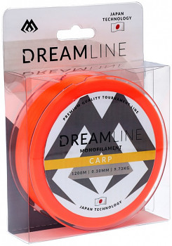 Vlasec - DREAMLINE CARP (FLUO ORANGE) - / 1200m - 1 cívka