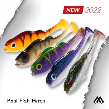 Nástraha - REAL FISH/ 9.5 cm - bal. 4 ks