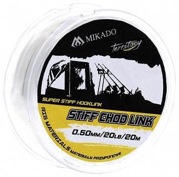 Návazcový vlasec - STIFF CHOD LINK 15-20LBS - bal.1ks