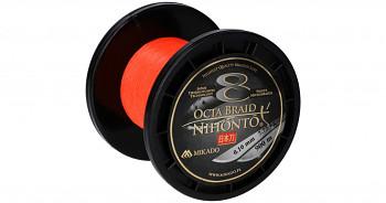 Pletená šňůra - NIHONTO OCTA BRAID Oranžová 900M