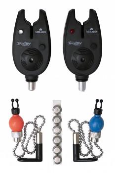 Elektronický signalizátor záběru HR-C 2ks set s hangery