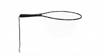 Podběrák - pstruhový 66cm / 40 x 45 cm - silikonová síť