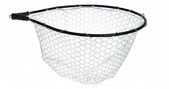 Hlava podběráková 014 - silikonová síť 55 x45 cm