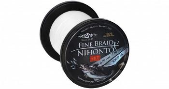 Pletená šňůra - NIHONTO FINE BRAID Bílá 3000M