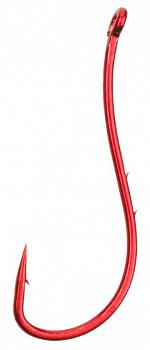 Háčky SENSUAL - RYUSEN W/RING No  8 (červená) - 10 ks