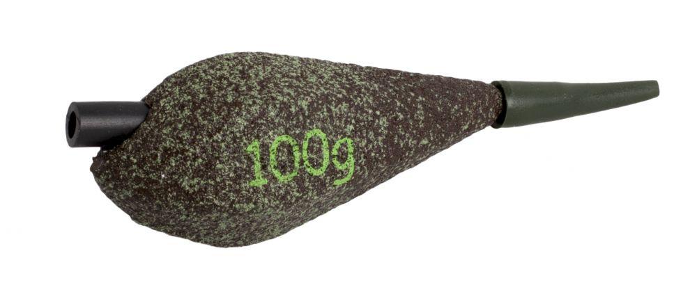 TULIPAN - vyosená olověná zátěž s protektorem (D.GREEN) - 140g - 10 ks