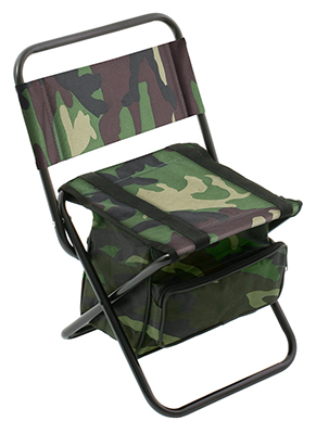 FISHING SEAT WITH BAG 008 / CAMOUFLAGE