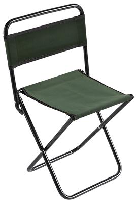 Stolička s opěrkou zad 004 (malá) / GREEN ? 16 mm (30 x 38 x 59 cm)